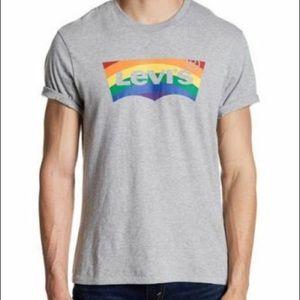 NWT Mens Levi Pride Shirt